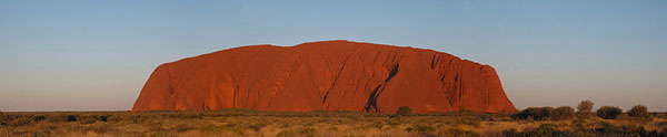 Backpacking in Australien - Ayers Rock