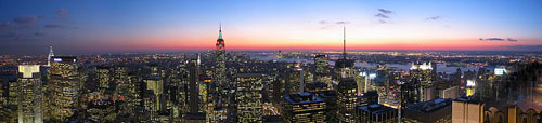 USA Reise - New York Skyline
